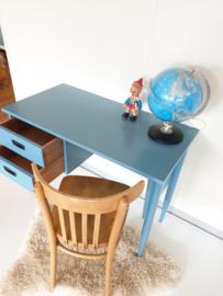 Vintage houten bureau - Sterk – 5 - restyle