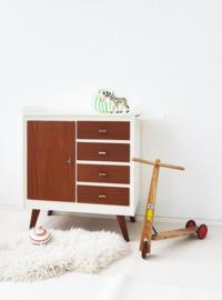 Vintage – jaren 60 commode - teak –21 - restyle