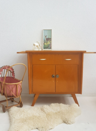 Vintage – jaren 60 commode / dressoir – naturel gelakt - nr. 35