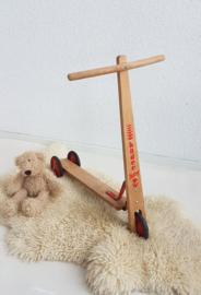 Vintage houten stepje Hadee Baby - VERO