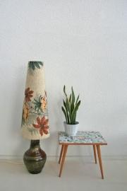 Keramieken vloerlamp - vintage