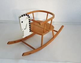 Vintage houten hobbelpaard - 3