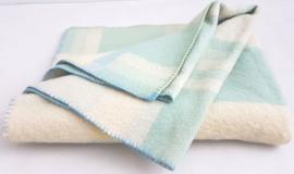 100% wollen deken voor peuter/kleuter bed – pastel – vintage – nr 18