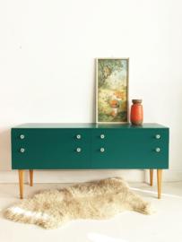 Klein dressoir / kaptafel / werktafeltje peuter Jungle - 16 – vintage restyle