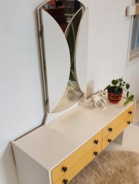 Klein dressoir / kaptafel / werktafeltje peuter - 10 – vintage restyle