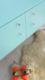 Laag dressoirtje  – Mint – vintage restyle