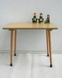 Schooltafel hout - vintage