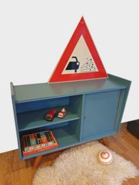 Klein dressoir – boekenkastje Stoer - 08 – vintage restyle