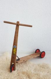 Vintage houten stepje - SWO