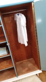 Vintage – 2deurs kledingkast Sterk - 19 – restyle
