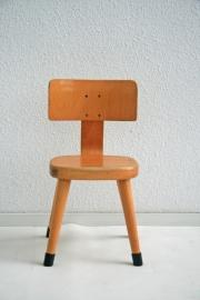 Peuter stoeltje – hout - vintage