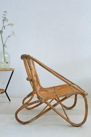 Rotan fauteuil - vintage