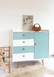 Vintage – jaren 60 commode – Celadoon - nr. 63 – restyle