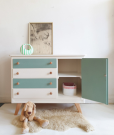 Vintage commode Celadoon - nr. 81 – restyle