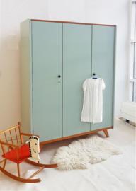 Vintage – 3deurs kledingkast Dauw - 10 – restyle