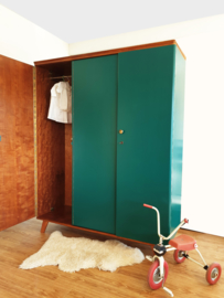 Vintage – driedeurs kledingkast  Jungle – 40 - restyle