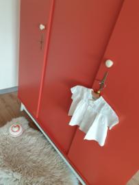 Vintage – driedeurs kledingkast Kus – 43 - restyle