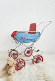 Jaren 70 Poppen wandelwagen – speelgoed