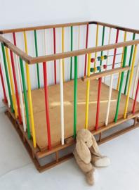 Beukenhouten box – 2 - vintage