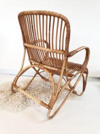 Rotan stoel – vintage