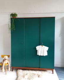 Vintage – driedeurs kledingkast Jungle – 45 - restyle