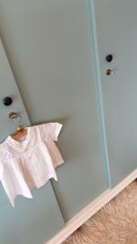 Vintage – 3deurs kledingkast Celadoon- 26 – restyle