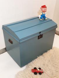 Vintage speelgoedkist / dekenkist – 08