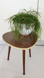 Plantentafeltje driehoek-vormig blad - 04 – vintage