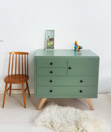 Vintage – ruime jaren 60 commode – nr. 25 – restyle
