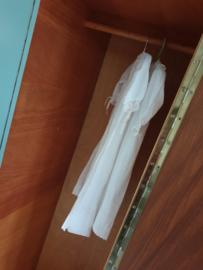 Vintage – driedeurs kledingkast Celadoon – 44 - restyle