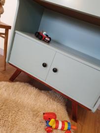 Vintage secretaire / klepkast  – 9 - restyle