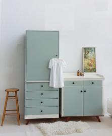 Vintage – jaren 60 babykamer set - 2 – Dew – restyle
