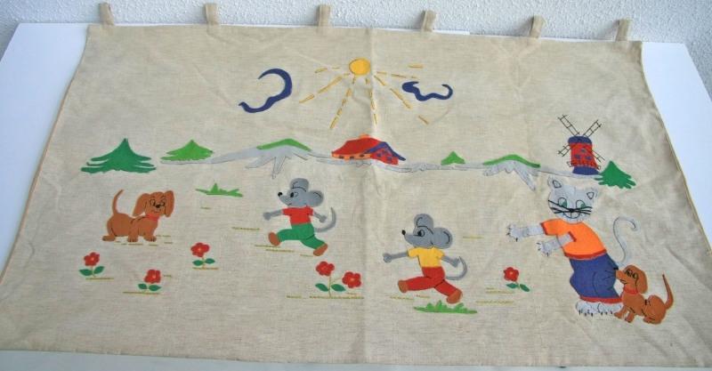 Kinderkamer wandkleed 3 – vintage