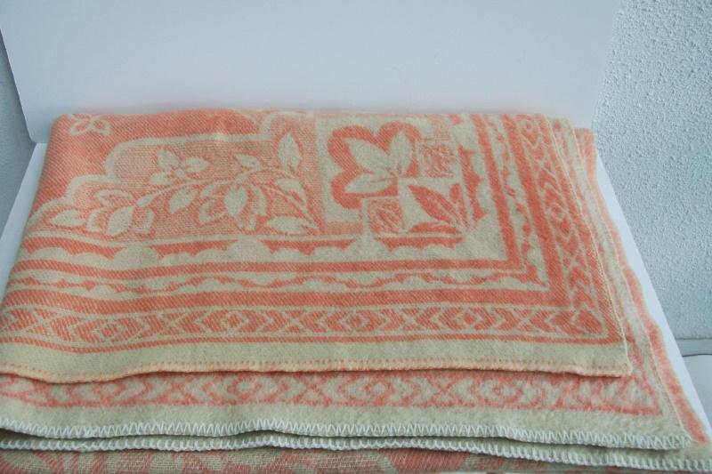Merk Wollen Dekens.100 Wollen Deken Merk Onbekend Vintage Textiel