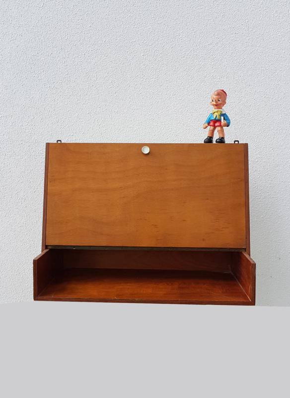 Verwonderlijk Vintage hang bureau met klep | tafels+bureaus | Studio Wietske YA-34