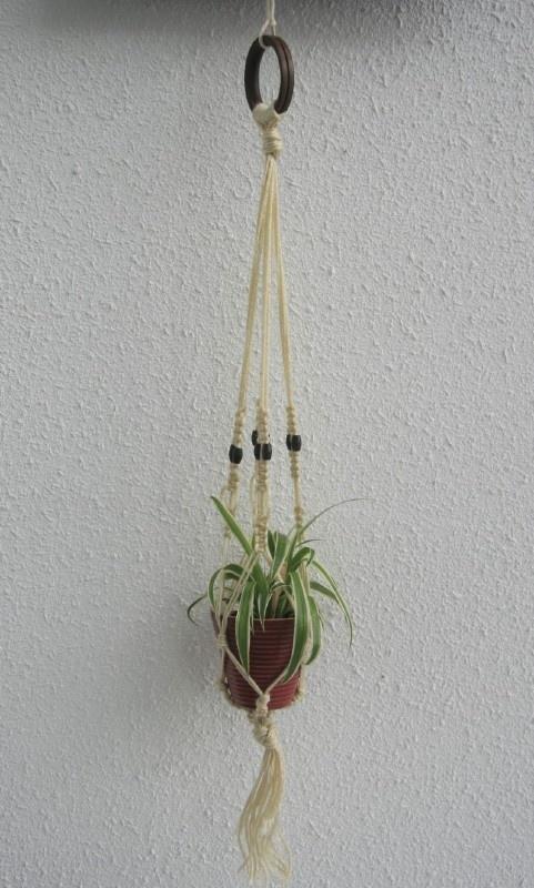 Retro Plantenhanger - klein formaat