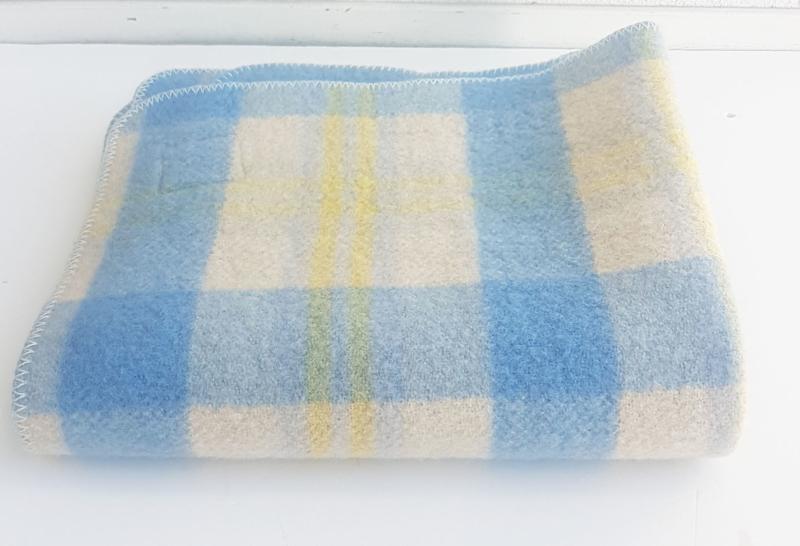 Wollen Deken Baby.100 Wollen Deken Baby Formaat Vintage Nr 04 Textiel