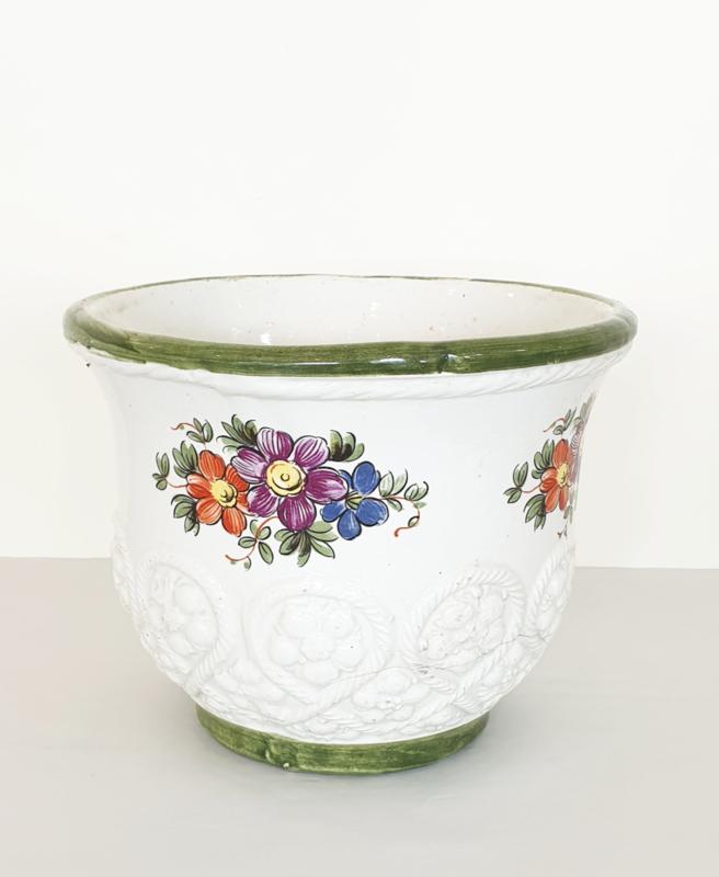 Bloempot – Italiaans keramiek – 02 – vintage