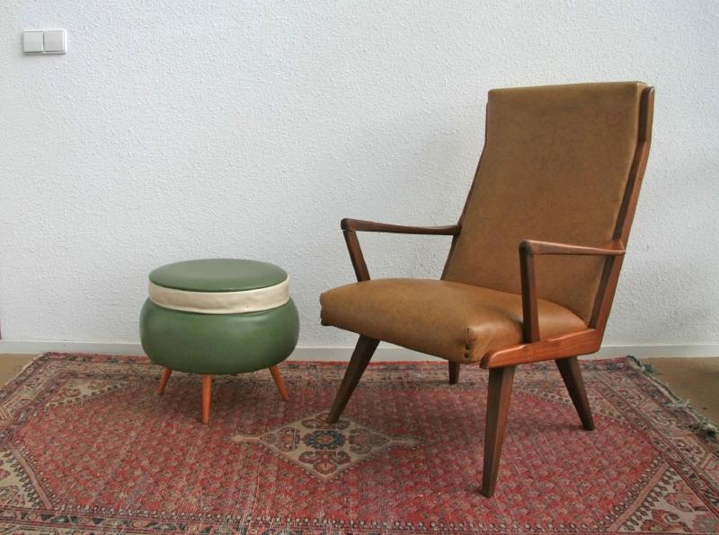 Fauteuil - Deens jaren 50