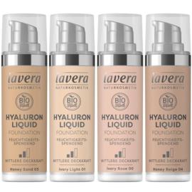 Natuurlijke liquid foundation hyaluron