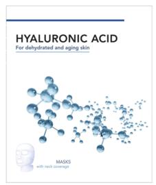 Hyaluronzuur Vliesmaskers Voor Gezicht & Hals