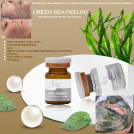 Behandeling Green Sea Peeling