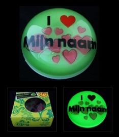 I LOVE mijn naam_groen