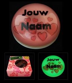Jouw Naam Presse-Papier_roze