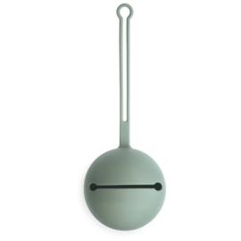 BIBS siliconen pacifier case Cambridge blue
