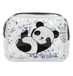 Toilettasje Glitter Panda
