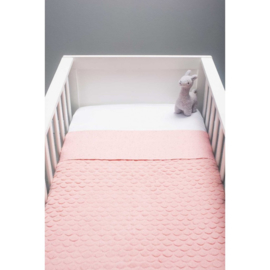 Jollein Fancy Knit Blush Pink Wiegdeken