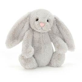 Jellycat Medium Bashful Silver Bunny 31cm