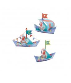 Origami Piratenboten Djeco