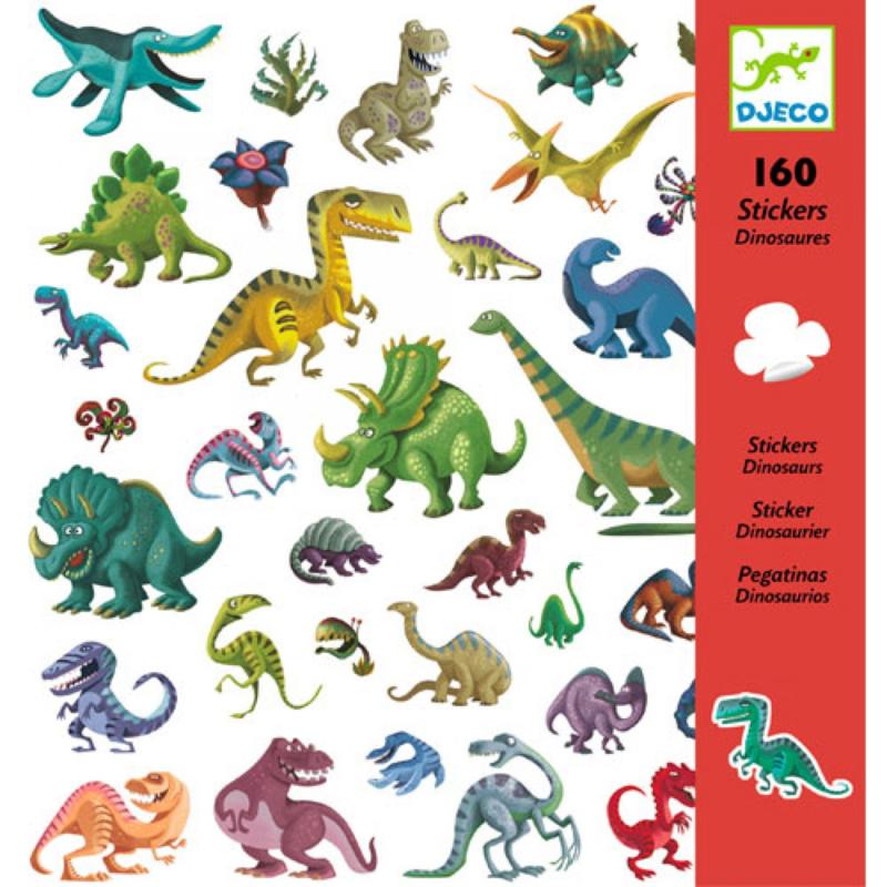 Djeco Stickers 160 Dino's